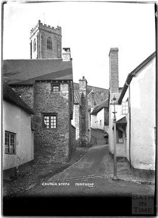 Church Steps, Minehead, Somerset c.1905 - 1915
