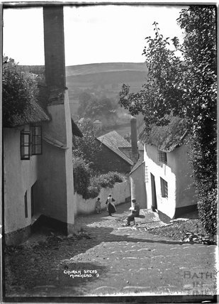 Church Steps, Minehead, Somerset, no.9,  c.1905 - 1915