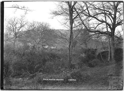 Packhorse Bridge, Horner, near Minehead, Somerset,  c.1905 - 1915