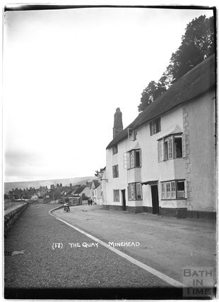 The Quay, Minehead, no.17, Somerset c.1905 - 1915