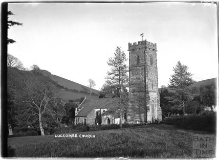 Church of St Mary, Luccombe near Minehead, Somerset,  c.1905 - 1915