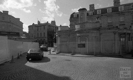 The Cross Bath, prior to restoration, Bath Street. 2000
