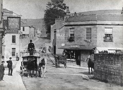 A very early view of Larkhall, c.1880s