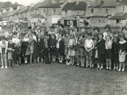St Saviours Sports Day, June 17th 1960