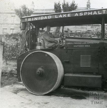 Limmer & Trinidad Lake Asphalt Co. Ltd., Southern Area steam roller, 11 May 1959