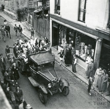 A parade in Larkhall, July 1952