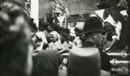 Coronation Parade, Larkhall, July 1953