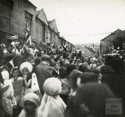 Coronation Parade, Larkhall, July 1953