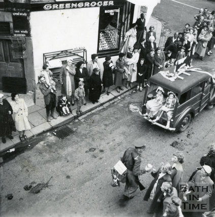 Parade in Larkhall, July 1952