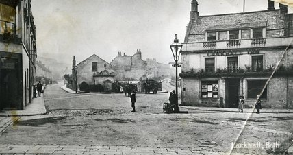 The Larkhall Inn, c.1900
