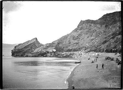 Combe Martin beach, North Devon, c.1920s