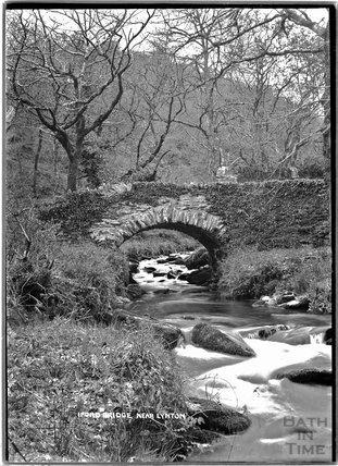 Iford Bridge near Lynton, Exmoor, Devon, c.1920s