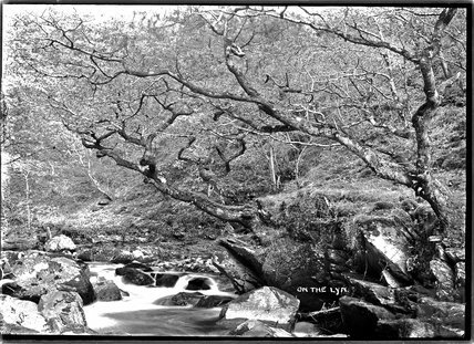 On the Lyn, near Lynton, Exmoor, Devon, c.1920s