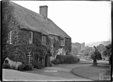 Village dwelling in Luccombe, near Minehead, Somerset, c.1920s