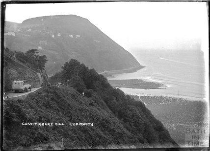 Countisbury Hill, Lynmouth, Exmoor, Devon, c.1930s