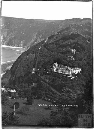 Tors Hotel, Lynmouth, Exmoor, Devon, c.1930s
