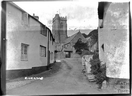 Church Steps at Minehead, Somerset, c.1920s