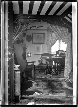 Interior of an unidentified House, Possibly Knapp or Porlock, Somerset, c1930s