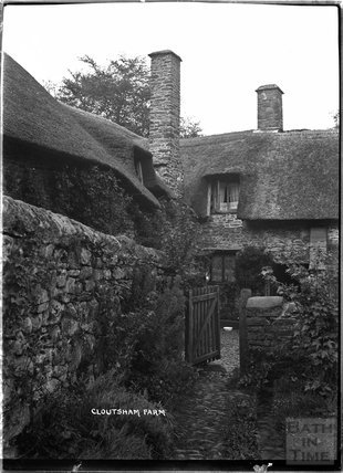 Cloutsham Farm, near Minehead, Somerset, c.1909