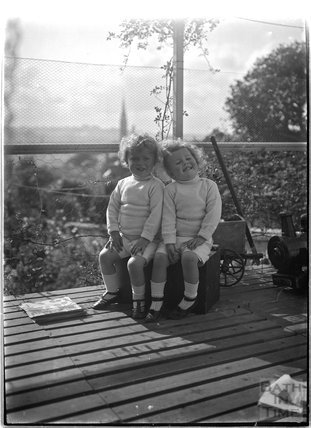 The photographer's twins, c.July 1913