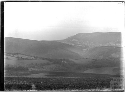 Exmoor view, near Minehead, Somerset c.1920s