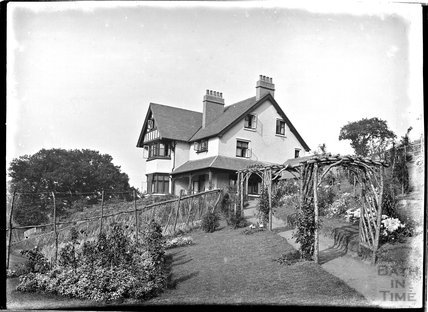 Unidentified House, possibly Knapp or Porlock, Somerset, c1930s
