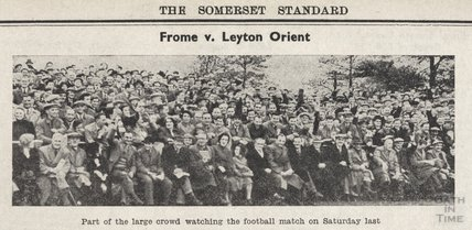 Frome v Leyton Orient, November 20th 1954