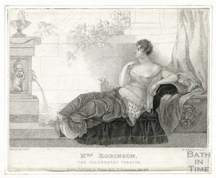 The celebrated Perdita, Mrs Mary Robinson (1758-1800)