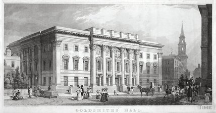 Goldsmith's Hall, London c.1835