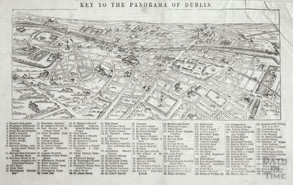 Key to the Panorama of Dublin, 1846