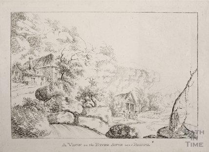A view on the River Avon, near Bristol c.1790s