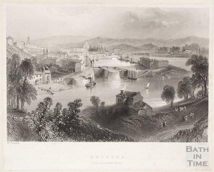 Bristol (from Rownham Ferry), 1842
