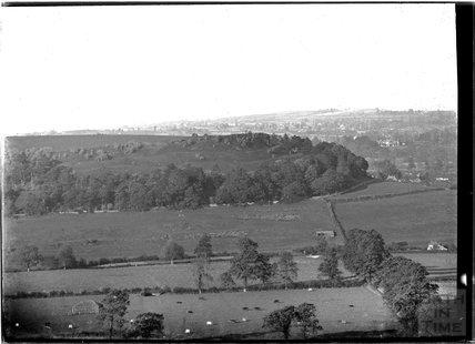 View of Cadbury Castle, Somerset c.1910