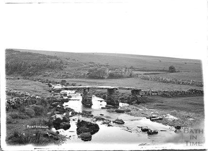 Postbridge, Dartmoor, Devon 1906