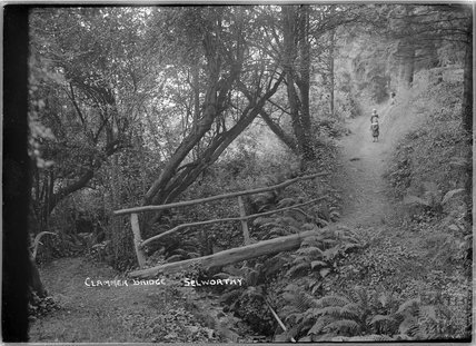 Clammer Bridge, Selworthy, near Minehead, Somerset, 1912