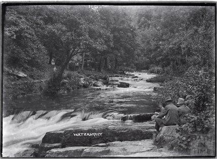 Watersmeet, River Lyn, Lynmouth, Exmoor, Devon, c.1920s