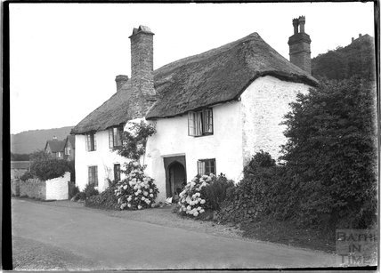 Thatched Cottage, Dunster, near Minehead, Somerset c.1910