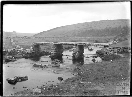 Postbridge, Dartmoor, Devon 1906