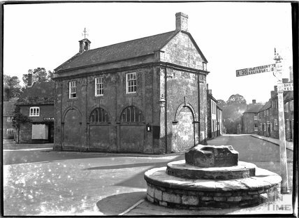 Ancient Guildhall, Milborne Port near Sherborne, Somerset c.1910