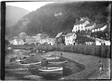 Seafront, Lynmouth, Exmoor, Devon, c.1920s