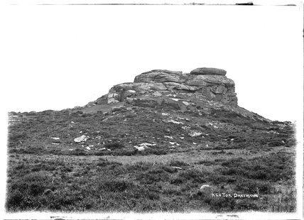 Kes Tor, Dartmoor, Devon 1906