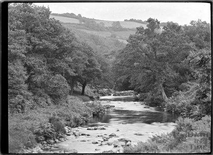 River Lyn, Lynmouth, Exmoor, Devon, c.1920s