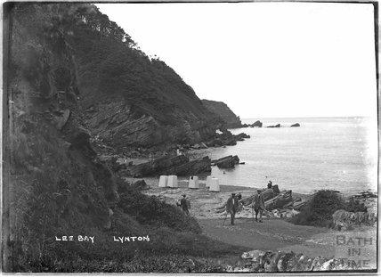 Lee Bay, Lynton, Lynmouth, Exmoor, Devon, c.1920s
