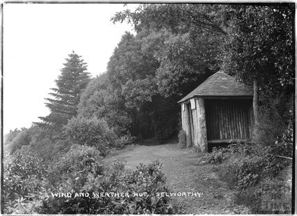 Wind and Weather Hut, Selworthy, near Minehead, Somerset, 1912