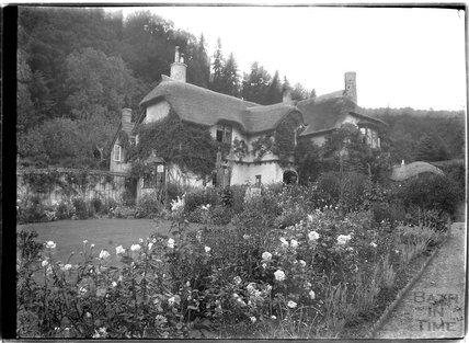 Lane Cottage (?), Selworthy, near Minehead, Somerset, c.1912