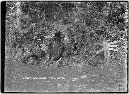 Agnes Fountain, Selworthy, near Minehead, Somerset, 1912