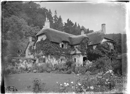 Lane Cottage (?), Selworthy, near Minehead, Somerset, c.1912
