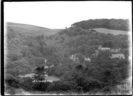 View of Selworthy, near Minehead, Somerset, c.1912