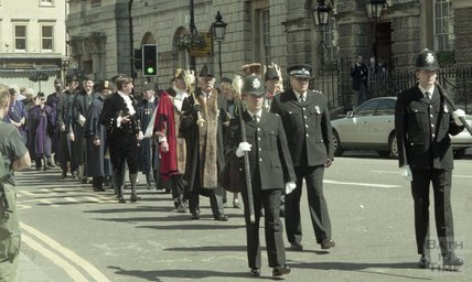The Mayor's procession for Mayor John Bailey, 1999