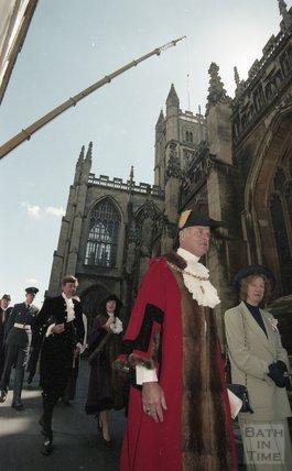 The Mayor's procession for Mayor John Bailey, 1999